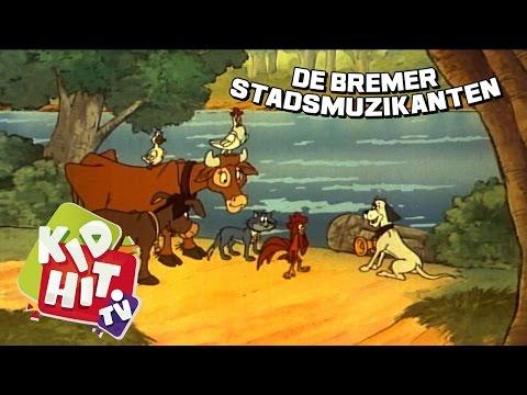 Bremer Stadsmuzikanten | Aflevering 03 | Met Zijn Allen Naar Bremen | KidHit.tv
