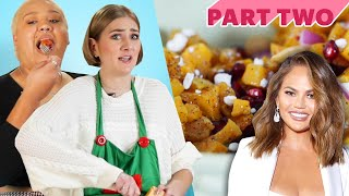 I Challenged Myself To Cook For Friends Using Only Celebrity Recipes • Holiday Dinner Series: Part 2