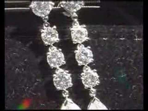 Dangle Earrings- ovef 5 carats of diamonds
