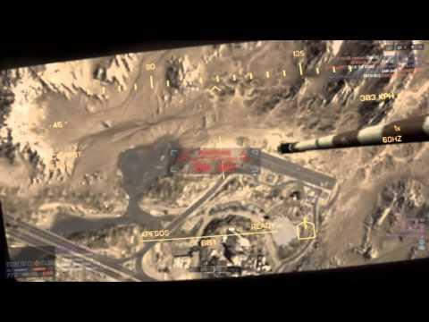 BTR 90 Flying through the air in Battlefield 4