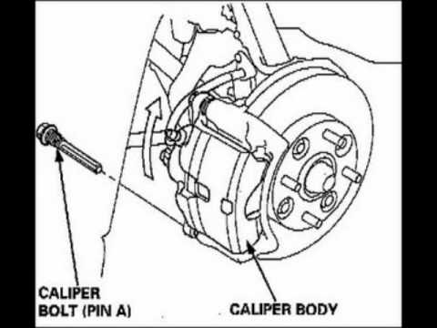 rear brake pads replacement 1997,1998,1999, Acura cl  YouTube