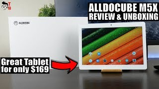 ALLDOCUBE M5X REVIEW & Unboxing: How Does It Differ From M5?