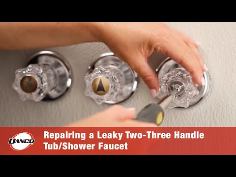 Danco How To Repairing A Leaky Two Three Handle Tub Shower Faucet