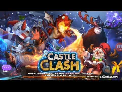 Castle Clash - 6 Carte De Hero Legendaire Et Tirage De 6300 Gemmes