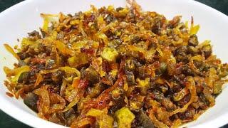 Khili khili bhindi pyaz ki sukhi sabzi // भिंडी प्याज की सुखी सब्जी // bhindi ki sabzi