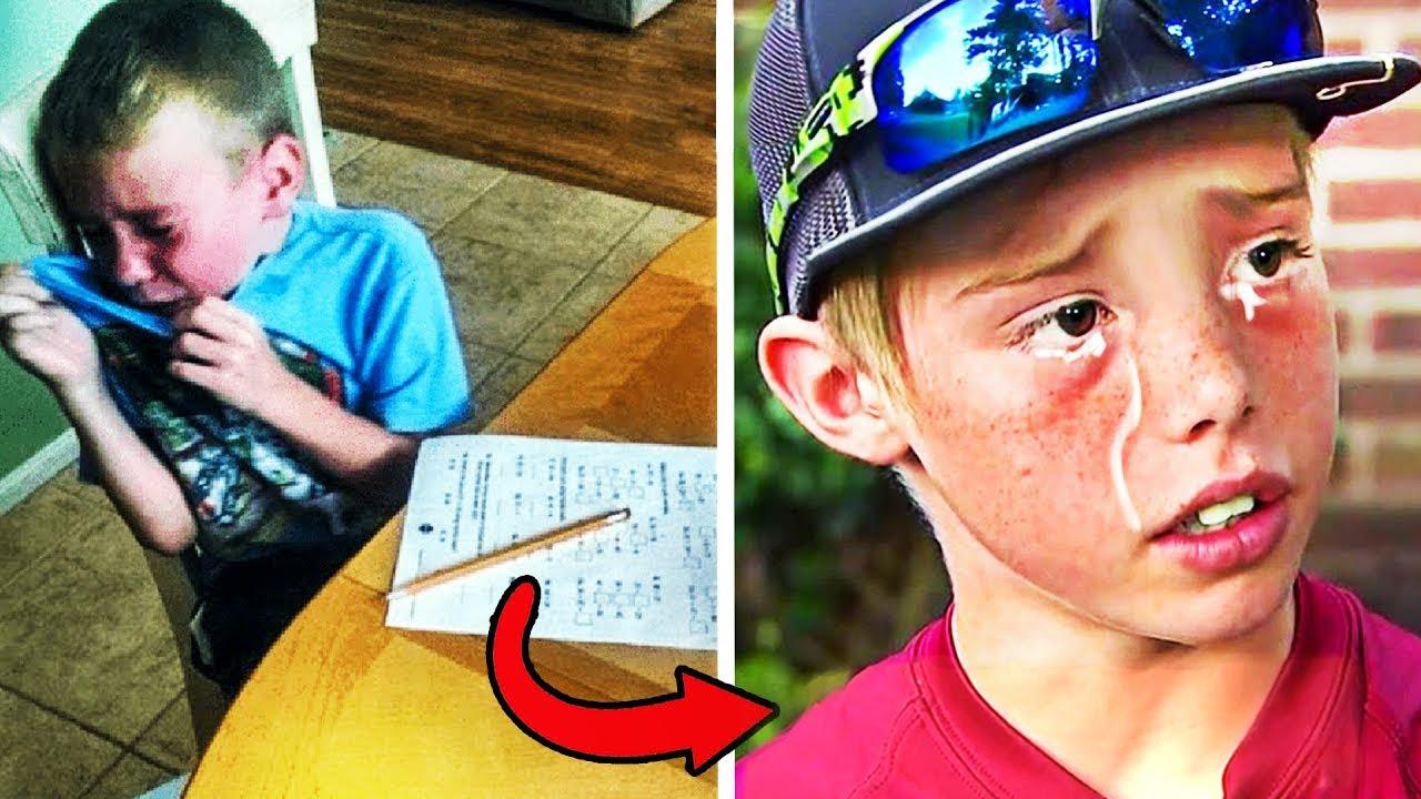 صرخ المعلم في وجه الطفل لأنه رسب بالإمتحان.. وفي اليوم التالي هذا ما فعله الأب !!