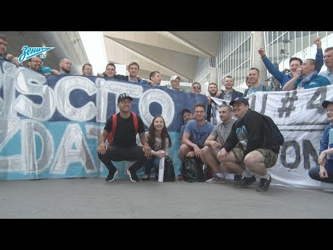 «Спасибо, Миммо!»: болельщики «Зенита» проводили Доменико Кришито