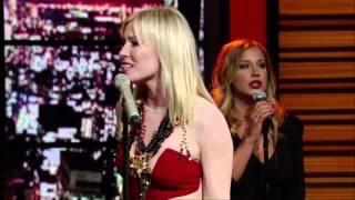 Natasha Bedingfield - Weightless Live - With Regis  & Kelly