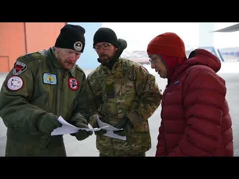 DROPPING BUOYS from a C-130 into the ICY ARCTIC near NORTH POLE! International Arctic Buoy Program❗