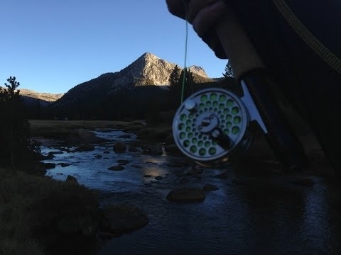 Backpacking and Fly Fishing Tuolumne Meadows, Yosemite National Park