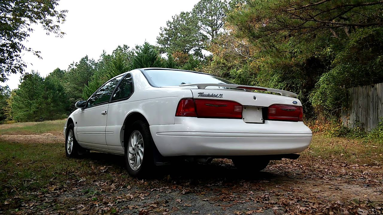 1997 ford thunderbird 4 6l sohc v 8 cherry bombs