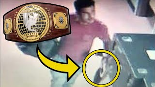 10 Wrestlers Who Had Their Title Belts STOLEN