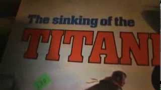 The Sinking Of The Titanic Board Game!! Made By Ideal Toy Group In 1976!!