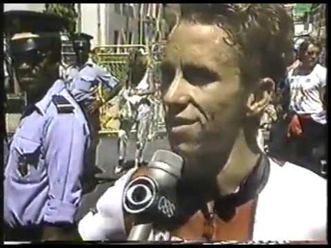 Cycling - 1986 Tour Du France - USA Greg LeMond Upsets 5 Time Champ Bernard Hinault imasportsphile