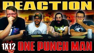 "One Punch Man 1x12 FINALE REACTION!! ""The Strongest Hero"""