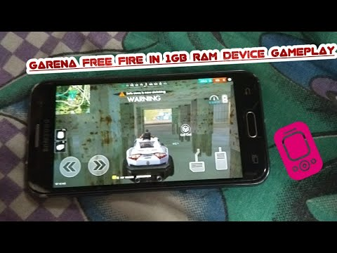 1 GB RAM phone no problem!!GARENA FREE FIRE GAMEplay in low device