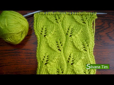 PUNTOS A 2 AGUJAS on Pinterest | Stitches, Tejido and Knitting ...