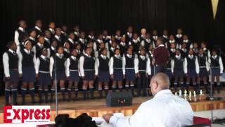 Tiisetsang Secondary School choir