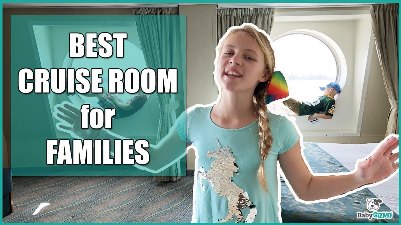 BEST Cruise Room For Families On Royal Caribbean Oasis Of The Seas FAMILY Stateroom 11528 ROOM TOUR
