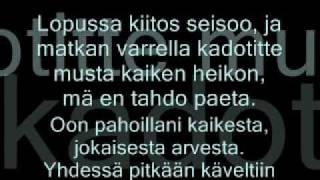Kymppilinja - Kiitos, Anteeks & Näkemiin (Lyrics)