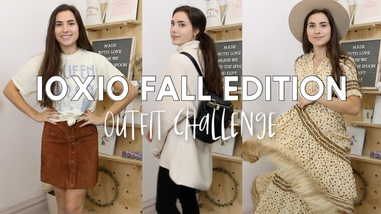 [VIDEO] - 10x10 OUTFIT CHALLENGE!! | Fall Winter Edition (Capsule Wardrobe!) 1