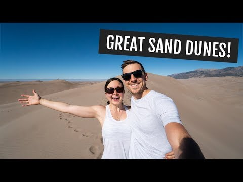 Hiking to High Dune at Great Sand Dunes National Park!