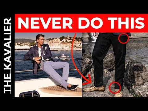 STOP WEARING BOAT SHOES