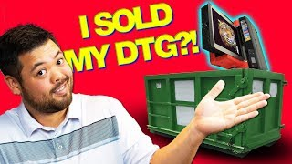 5 REASONS WHY I SOLD MY DTG T-SHIRT PRINTER AND NEVER LOOKED BACK!