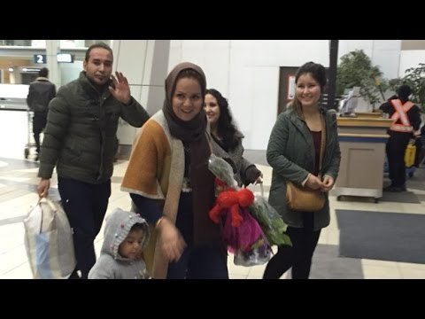 Afghan refugees reunited with family in Regina