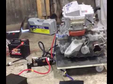 Turning the motor for the first time