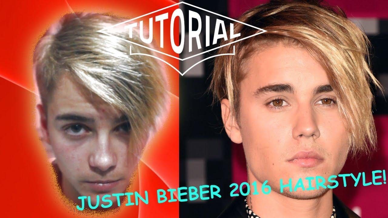 JUSTIN BIEBER Hairstyle | PURPOSE Haircut 2016 | Barbero Mick - YouTube