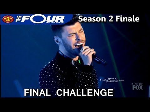 "James Graham sings ""Fix You"" Final Challenge / Battle Performance The Four Season 2 FINALE S2E8"