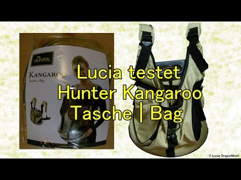 Lucia testet Hunter Kangaroo Tasche/Bag