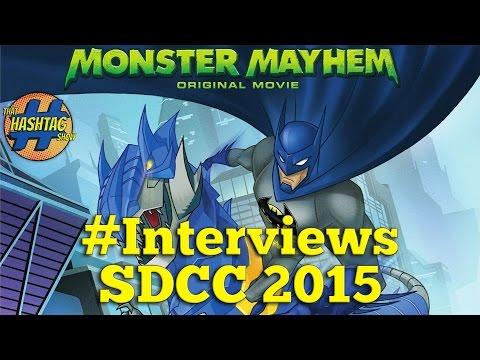 Batman Unlimited:  Monster Mayhem Interviews - Will Friedle, Yuri Lowenthal, Khary Payton