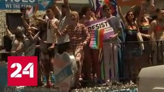 Челси Мэннинг вышла на гей-парад в Нью-Йорке