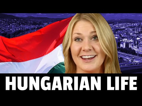 American REACTS to living in Hungary food culture history etc