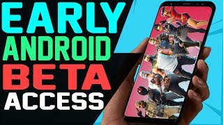 HOW TO DOWNLOAD FORTNITE ANDROID BETA EARLY and EXCLUSIVE GALAXY SKIN