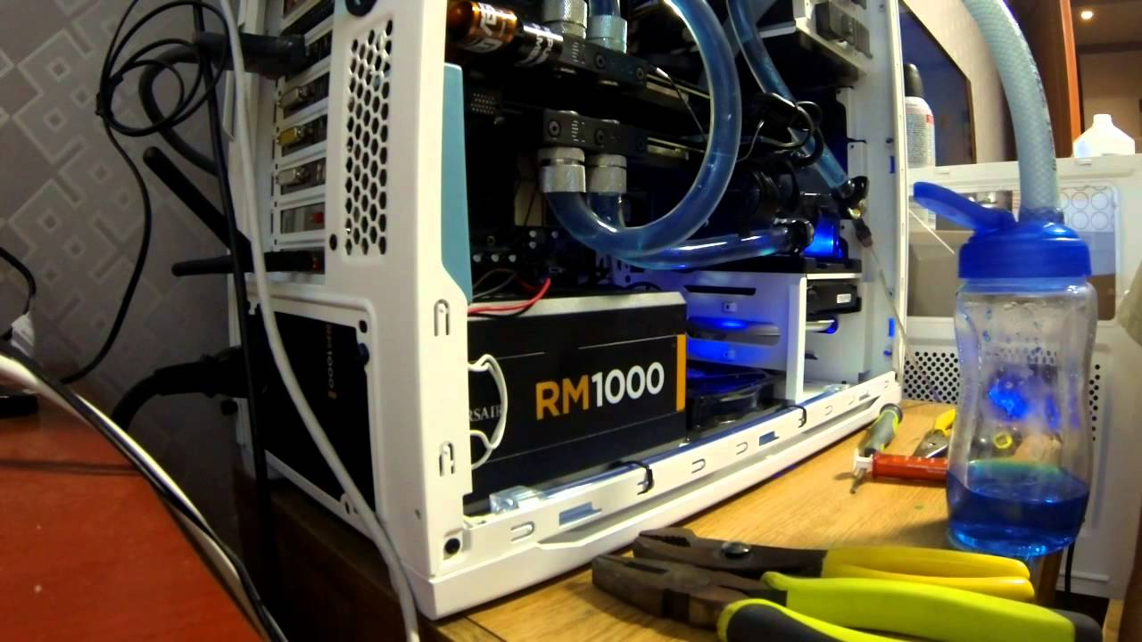 EK Coolstream 240 dual and 140 single Radiator Unboxing and Ultimate water  cooled gaming PC