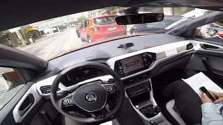 VW T-CROSS 250 TSI 1.4 TURBO HIGHLINE 2019 | TEST DRIVE ONBOARD POV GOPRO