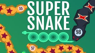 SuperSnake.io Full Gameplay Walkthrough
