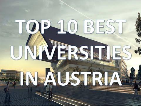 Top 10 Best Universities In Austria/Top 10 Mejores Universidades De Austria