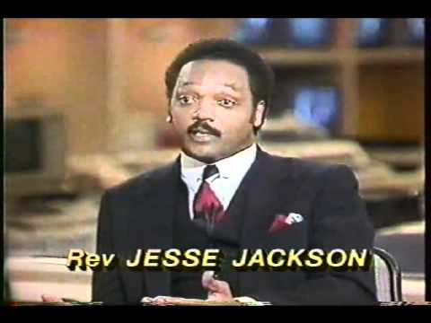 Jerry Falwell and Jesse Jackson debate on Nightline