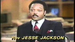 Jerry Falwell and Jesse Jackson debate on Nightline
