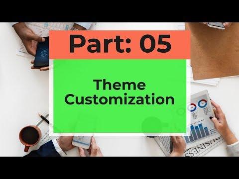 Theme Customization | Wordpress: Part 05 | Bangla Tutorial | ITBiD | thumbnail