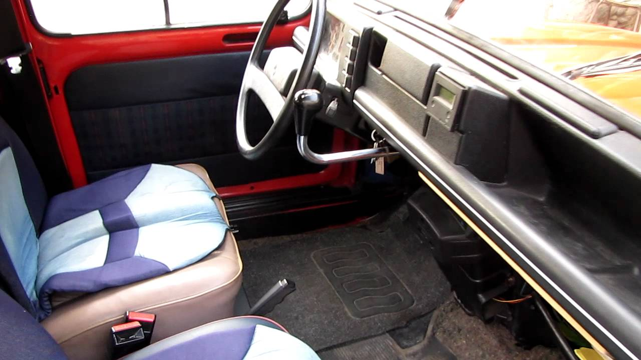 Renault 4 gtl 1986 youtube for Interieur 4l