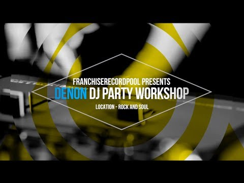Denon DJ Party Workshop with DJ Dubbz | Franchise Fridays at Rock and Soul Record Store