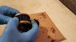 Amsoil Ea EA15K12 Synthetic oil filter after 5k miles
