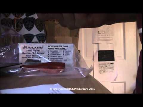 Unboxing and Setup of the Midland 74-250 Handheld Weather Radio