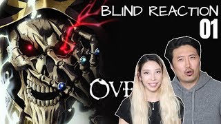 OVERLORD BLIND REACTION! - Kimchi and Tofu