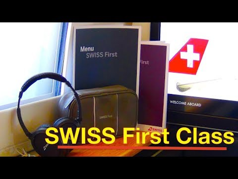 SWISS AIRLINES ❌ FIRST CLASS ❌ Visit to CAPTAIN in COCKPIT ❌ NEW V.I.P. AIR MENU ❌ FLIGHT REPORT